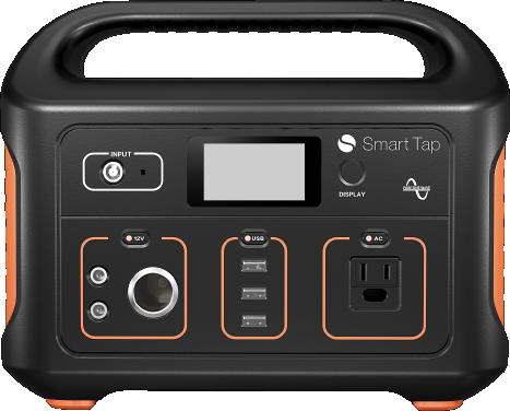 ポータブル電源SmartTap~災害・停電・ブラックアウトに備えて持ち運べるおすすめの家庭用大容量電源